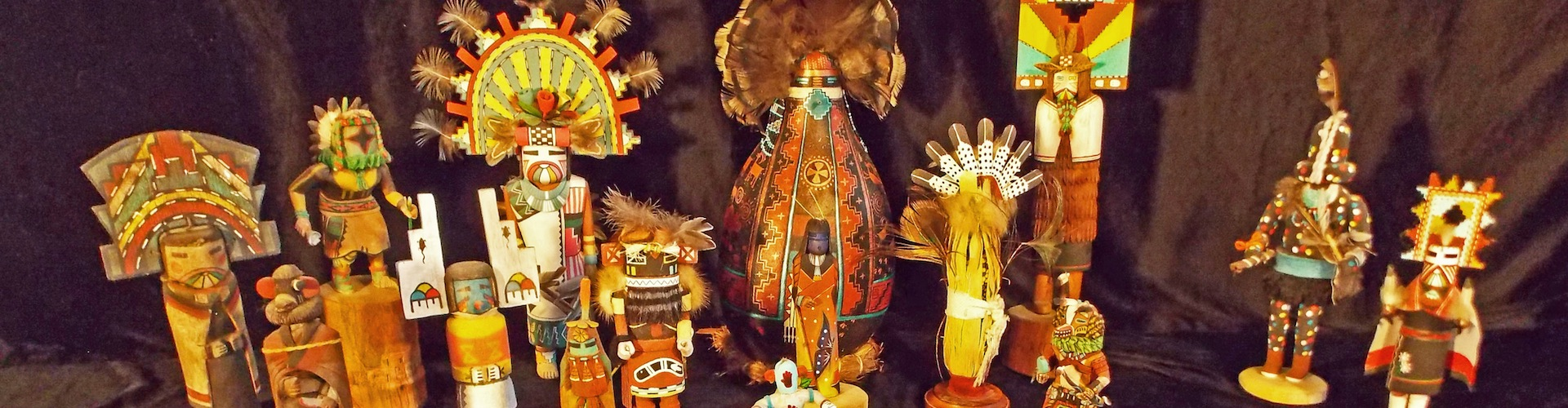 Native American Kachina Dolls at the Travis County Folk Art Museum