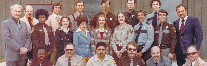 Law Enforcement Academy class, c. 1977