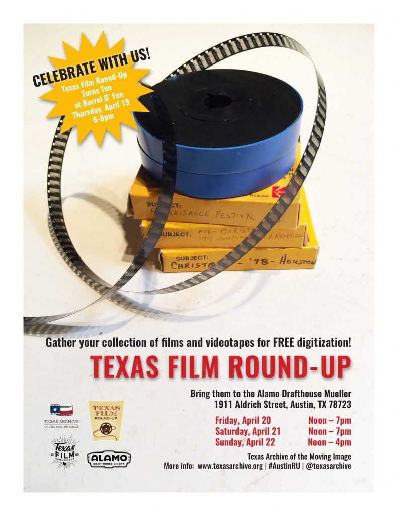 Texas Film Roundup poster