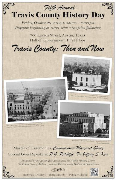 Travis County: Then and Now Poster