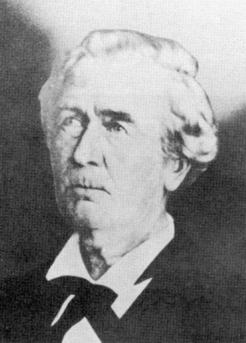 Thomas H. Duval, 2nd District Court Judge, 1855-1857