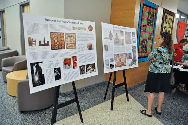 display boards at history day 2015