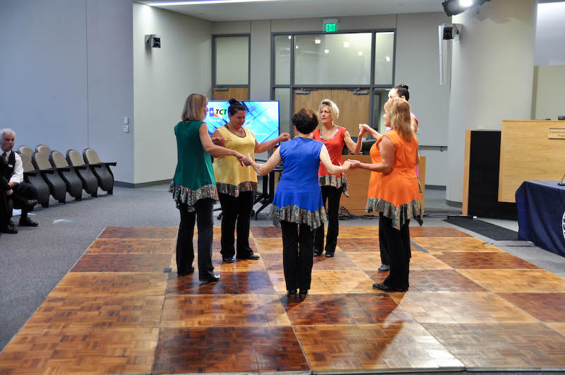 Contemporary Cloggers performance at history day 2015