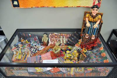history day 2015 folk art display
