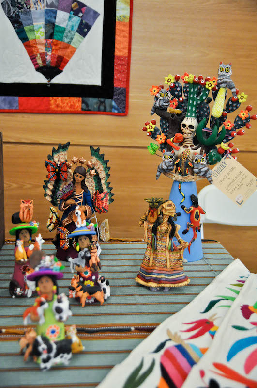 Figures from Austin Friends of Folk Art at History Day 2015