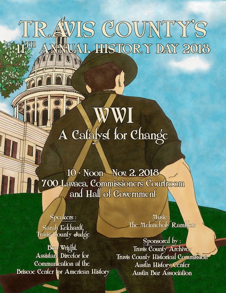 Travis County History Day 2018, WWI Flyer